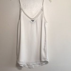 Lulus medium white camisole tank blouse shirt